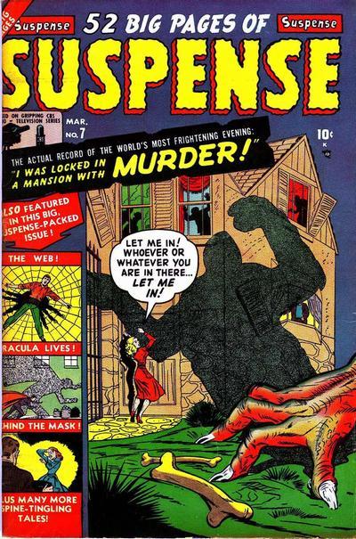 Cover for Suspense (Marvel, 1949 series) #7