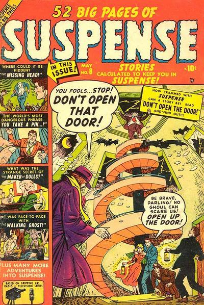 Cover for Suspense (Marvel, 1949 series) #8