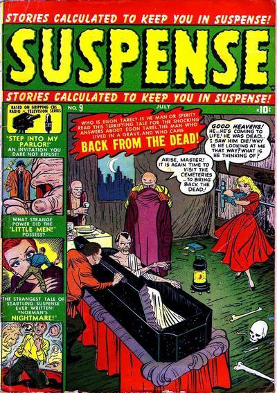 Cover for Suspense (Marvel, 1949 series) #9