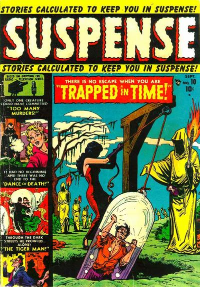 Cover for Suspense (Marvel, 1949 series) #10