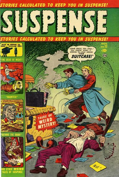 Cover for Suspense (Marvel, 1949 series) #11