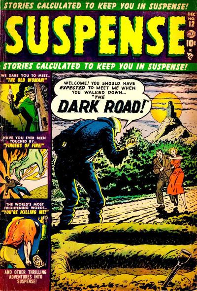 Cover for Suspense (Marvel, 1949 series) #12