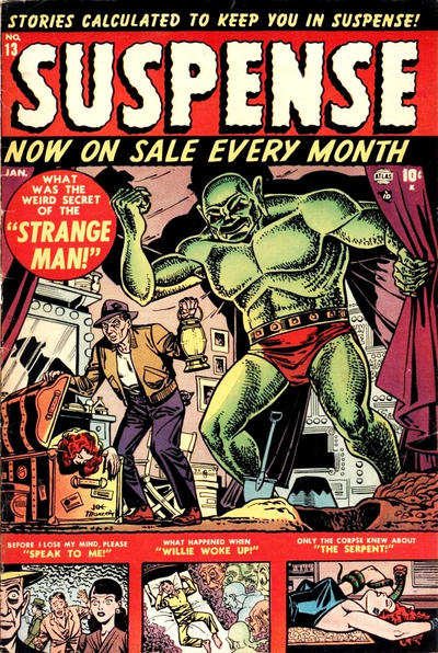 Cover for Suspense (Marvel, 1949 series) #13