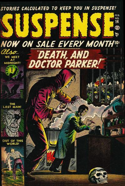 Cover for Suspense (Marvel, 1949 series) #14