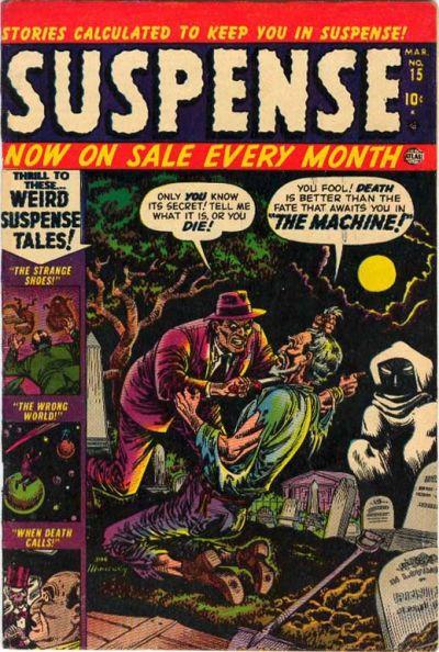 Cover for Suspense (Marvel, 1949 series) #15