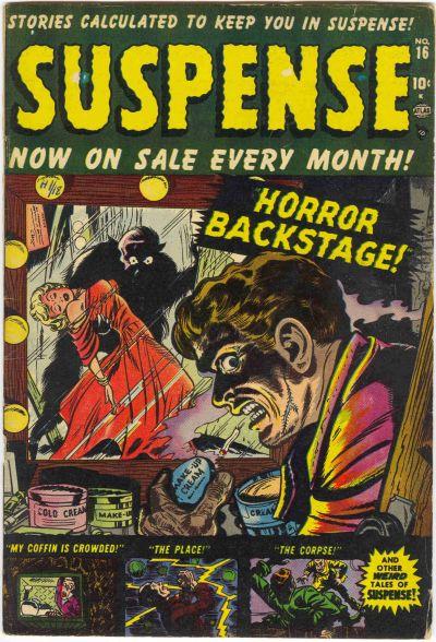 Cover for Suspense (Marvel, 1949 series) #16