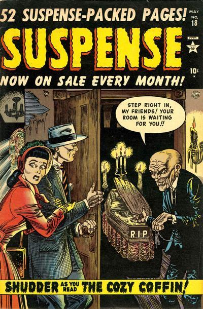 Cover for Suspense (Marvel, 1949 series) #18