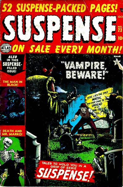 Cover for Suspense (Marvel, 1949 series) #23