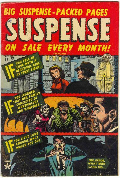 Cover for Suspense (Marvel, 1949 series) #27