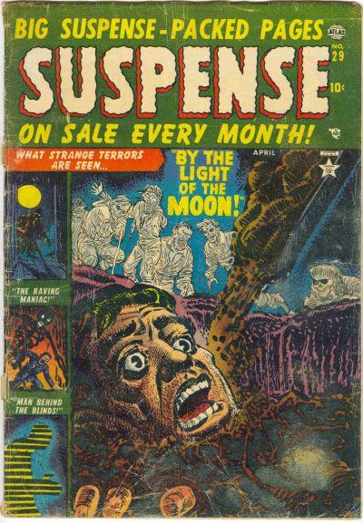 Cover for Suspense (Marvel, 1949 series) #29