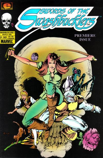 Cover for Swords of the Swashbucklers (Marvel, 1985 series) #1