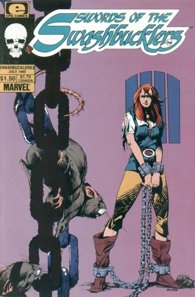 Cover for Swords of the Swashbucklers (Marvel, 1985 series) #2