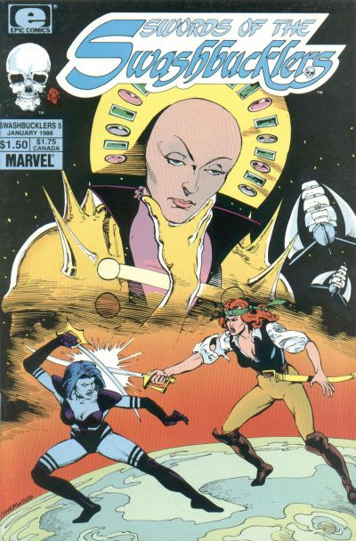 Cover for Swords of the Swashbucklers (Marvel, 1985 series) #5