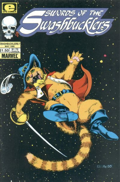 Cover for Swords of the Swashbucklers (Marvel, 1985 series) #7