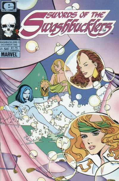 Cover for Swords of the Swashbucklers (Marvel, 1985 series) #11