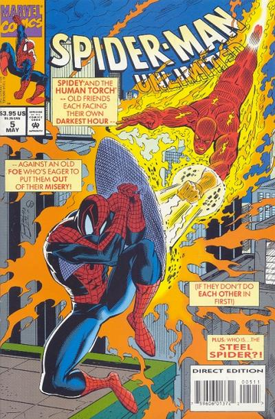 Cover for Spider-Man Unlimited (Marvel, 1993 series) #5