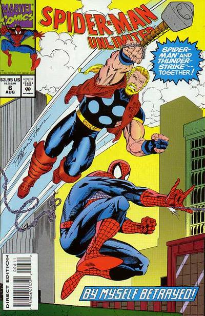 Cover for Spider-Man Unlimited (Marvel, 1993 series) #6