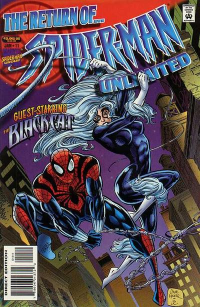 Cover for Spider-Man Unlimited (Marvel, 1993 series) #11