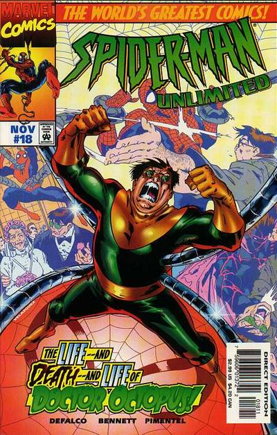 Cover for Spider-Man Unlimited (Marvel, 1993 series) #18
