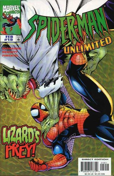 Cover for Spider-Man Unlimited (Marvel, 1993 series) #19