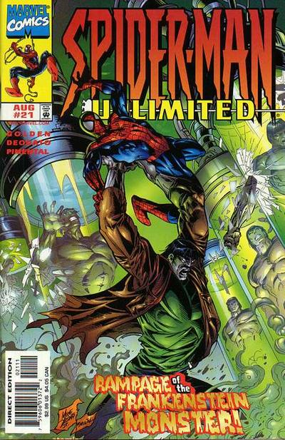 Cover for Spider-Man Unlimited (Marvel, 1993 series) #21