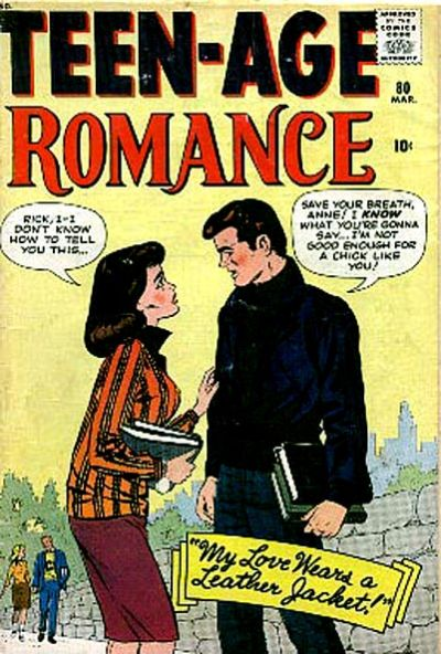 Cover for Teen-Age Romance (Marvel, 1960 series) #80