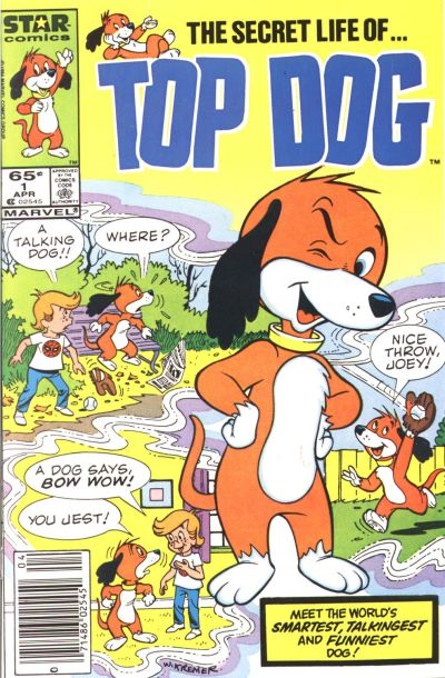 Cover for Top Dog (Marvel, 1985 series) #1 [Newsstand Edition ]