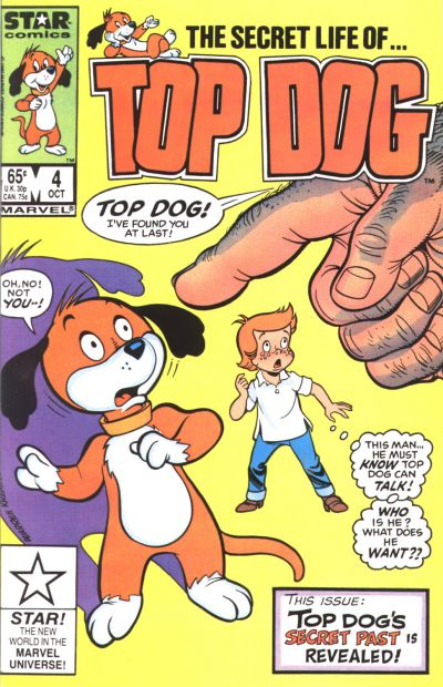 Cover for Top Dog (Marvel, 1985 series) #4