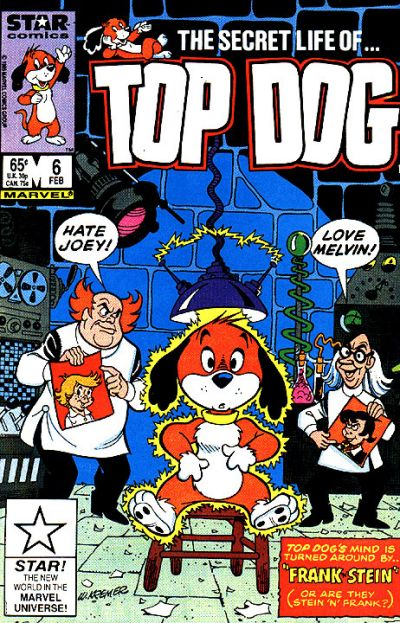 Cover for Top Dog (Marvel, 1985 series) #6