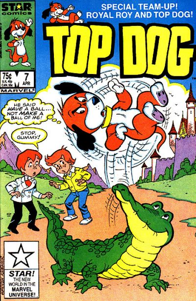 Cover for Top Dog (Marvel, 1985 series) #7