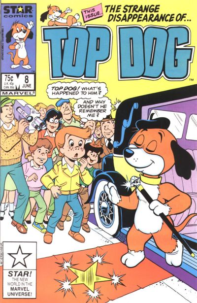 Cover for Top Dog (Marvel, 1985 series) #8 [Direct]