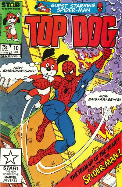 Cover for Top Dog (Marvel, 1985 series) #10