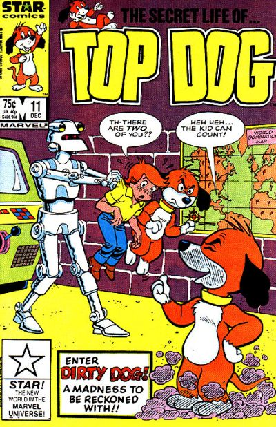 Cover for Top Dog (Marvel, 1985 series) #11