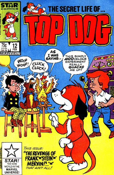 Cover for Top Dog (Marvel, 1985 series) #12