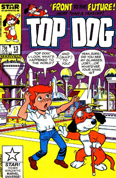 Cover for Top Dog (Marvel, 1985 series) #13