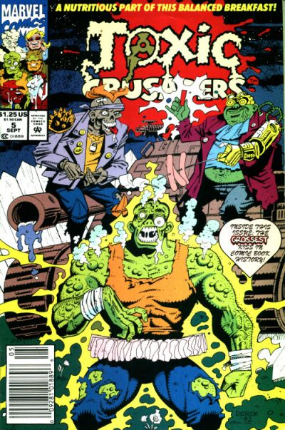 Cover for Toxic Crusaders (Marvel, 1992 series) #5