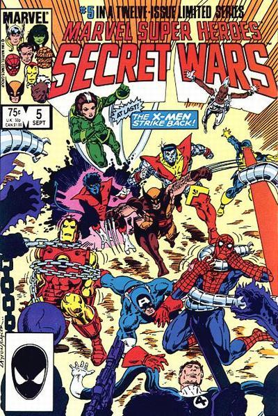 Cover for Marvel Super-Heroes Secret Wars (Marvel, 1984 series) #5 [Direct Edition]