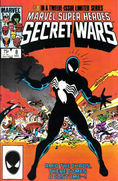 Cover for Marvel Super-Heroes Secret Wars (Marvel, 1984 series) #8 [Direct Edition]
