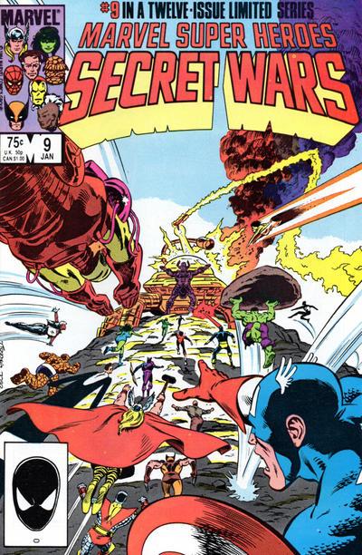 Cover for Marvel Super-Heroes Secret Wars (Marvel, 1984 series) #9 [Direct Edition]