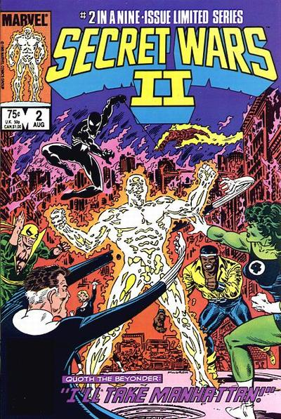 Cover for Secret Wars II (Marvel, 1985 series) #2 [Direct]