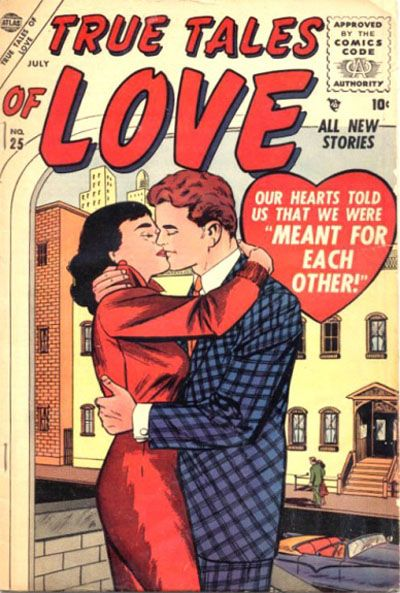 Cover for True Tales of Love (Marvel, 1956 series) #25