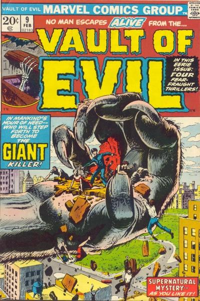 Cover for Vault of Evil (Marvel, 1973 series) #9