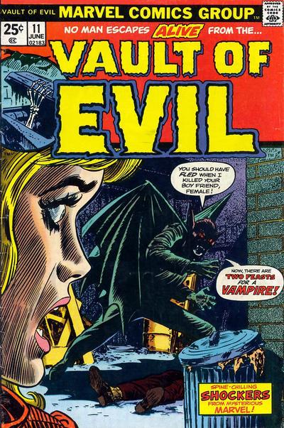 Cover for Vault of Evil (Marvel, 1973 series) #11