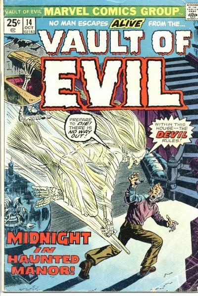 Cover for Vault of Evil (Marvel, 1973 series) #14