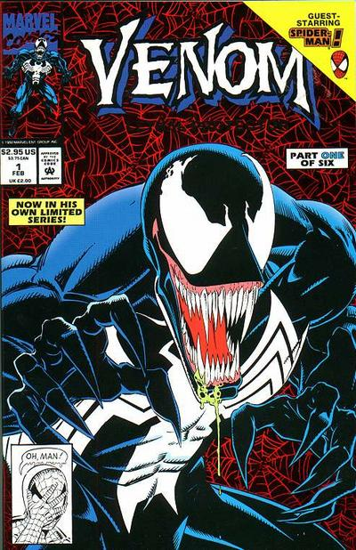 Cover for Venom: Lethal Protector (Marvel, 1993 series) #1 [Direct]