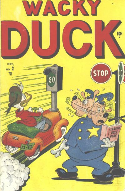 Cover for Wacky Duck (Marvel, 1948 series) #2