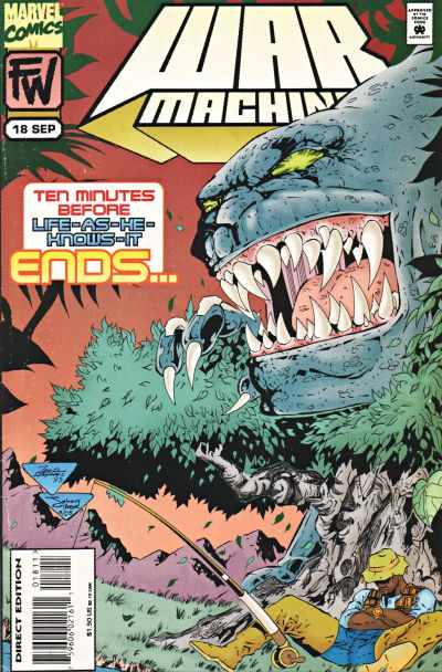 Cover for War Machine (Marvel, 1994 series) #18