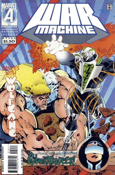 Cover for War Machine (Marvel, 1994 series) #20