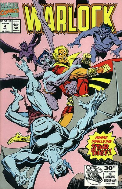 Cover for Warlock (Marvel, 1992 series) #4