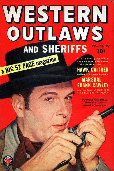 Cover for Western Outlaws and Sheriffs (Marvel, 1949 series) #60